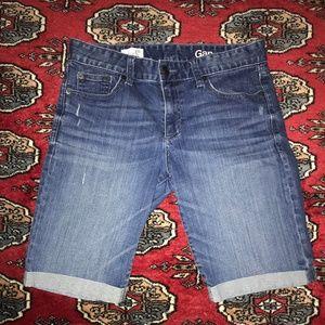 Gap Skinny Bermuda Shorts Size 26r